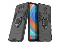 Husa TPU OEM Defender Armor pentru Xiaomi Redmi Note 9S / Xiaomi Redmi Note 9 Pro / Xiaomi Redmi Note 9 Pro Max, Neagra, Bulk