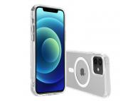 Husa TPU Nevox pentru Apple iPhone 12 mini, StyleShell FLEXSHOCK, MagSafe, Transparenta