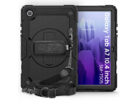 Husa Plastic - TPU Tech-Protect SOLID360 pentru Samsung Galaxy Tab A7 10.4 (2020), Neagra, Bulk