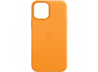 Husa Piele Apple iPhone 12 mini, MagSafe, Galbena MHK63ZM/A