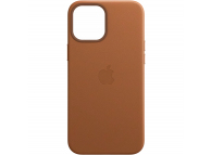 Husa Piele Apple iPhone 12 Pro Max, MagSafe, Maro, Blister MHKL3ZM/A