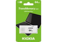Memorie Externa KIOXIA U202, 64Gb, USB 2.0, Alba, Blister LU202W064GG4