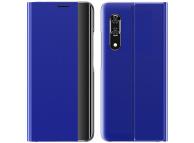 Husa Poliuretan - Piele OEM New Sleep Case pentru Samsung Galaxy A51 5G A516, Albastra, Bulk