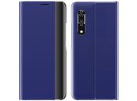 Husa Textil OEM New Sleep Case pentru Samsung Galaxy A51 5G A516, Albastra