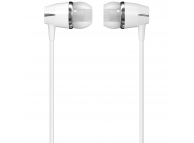 Handsfree Casti In-Ear WK-Design Y6, Cu microfon, 3.5 mm, Alb