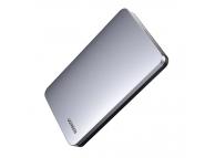 Rack Extern USB UGREEN HDD/SSD 2.5 inch SATA III, USB 3.2, Gen 2 USB Type C CM300 + cablu USB Typ C + cablu USB Type C, Gri, Blister