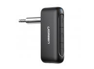 Receptor / Transmitator AUX UGREEN Audio, AUX To Bluetooth 5.0, Negru, Blister 70303