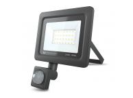 Proiector LED Forever PROXIM II, 30W, 6000K, PIR IP66, cu Senzori de Miscare, pentru Exterior, Neagra, Blister