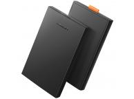 Rack Extern USB Baseus HDD SSD 2.5 inch SATA Baseus USB 3.2 Gen 1(5 Gbps) + cablu microUSB, Negru, Blister CM237