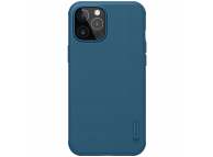 Husa Plastic Nillkin Super Frosted pentru Apple iPhone 12 / Apple iPhone 12 Pro, Albastra, Blister