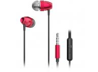 Handsfree Casti In-Ear Dudao X2 Pro, Cu microfon, 3.5 mm, Rosu