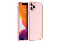 Husa TPU - Piele DUX DUCIS Yolo pentru Apple iPhone 11 Pro, Roz, Blister