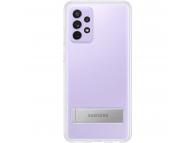 Husa TPU Samsung Galaxy A72 5G A725, Standing Cover, Transparenta EF-JA725CTEGWW