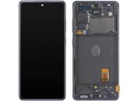Display - Touchscreen Samsung Galaxy S20 FE G780, Cu Rama, Bleumarin GH82-24220A