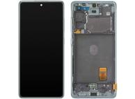 Display - Touchscreen Samsung Galaxy S20 FE G780, Cu Rama, Verde GH82-24220D
