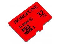 Card Memorie MicroSDHC Borofone, 32Gb, Clasa 10 / UHS-1 U1