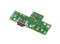 Placa Cu Conector Incarcare / Date - Microfon Motorola Moto G8