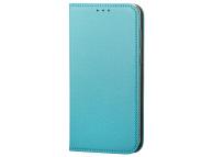 Husa Piele OEM Smart Magnet pentru Samsung Galaxy A20e, Turcoaz