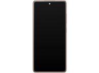 Display - Touchscreen Samsung Galaxy S20 FE G780, Cu Rama, Portocaliu GH82-24219F
