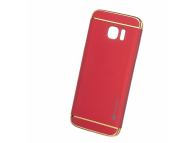 Husa Plastic Mocolo SUPREME LUXURY pentru Samsung Galaxy S7 edge G935, Rosie, Blister