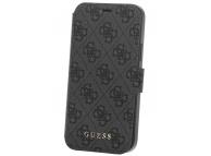Husa Plastic - TPU Guess 4G Book pentru Apple iPhone 12 Pro Max, Gri, Blister GUFLBKSP12L4GG