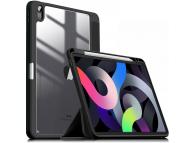 Husa Tableta Poliuretan INFILAND Crystal pentru Apple iPad Air (2020), Neagra, Blister