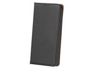 Husa Piele OEM Smart Pro pentru Xiaomi Redmi Note 9S / Xiaomi Redmi Note 9 Pro, Neagra, Bulk