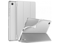 Husa Tableta TPU INFILAND SMART STAND pentru Samsung Galaxy Tab A7 10.4 (2020), Argintie, Blister