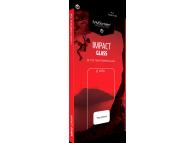 Folie Protectie Ecran MyScreen ImpactGlass pentru Apple iPhone 12 Pro Max, Plastic, Full Face, Full Glue