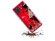 Husa TPU OEM Antisoc Painted Girl pentru Samsung Galaxy A21s, Multicolor, Bulk