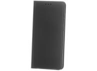 Husa Piele OEM Smart Skin pentru Samsung Galaxy A42 5G, Neagra, Bulk