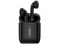 Handsfree Casti Bluetooth Lenovo X9, cu Suport Incarcare, Negru, Blister