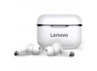 Handsfree Casti Bluetooth Lenovo LivePods LP1, Alb Negru, Blister