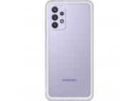 Husa TPU Samsung Galaxy A32 LTE A325, Clear Cover, Transparenta, Blister EF-QA325TTEGWW