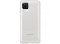 Husa TPU Samsung Galaxy A12 A125, Clear Cover, Transparenta, Blister EF-QA125TTEGEU