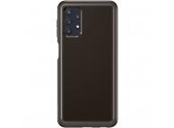 Husa TPU Samsung Galaxy A32 5G A326, Clear Cover, Neagra EF-QA326TBEGWW