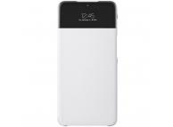 Husa Samsung Galaxy A32 5G A326, S View Wallet, Alba EF-EA326PWEGEE