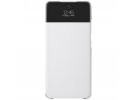 Husa Samsung Galaxy A52, S View Wallet, Alba EF-EA525PWEGEE