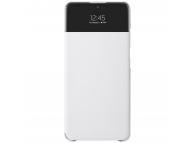Husa Samsung Galaxy A72, S View Wallet, Alba EF-EA725PWEGEE