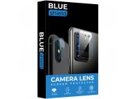 Folie Protectie Camera spate BLUE Shield pentru Apple iPhone 12 Pro, Sticla securizata, HD, 0.7mm, 3D, 9H, Neagra