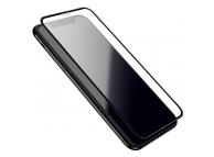 Folie Protectie Ecran HOCO Silk pentru Apple iPhone 11 Pro Max, Sticla securizata, Full Face, 0.33mm, HD, Set 10 buc