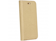 Husa Piele OEM Luna pentru Samsung Galaxy A21s, Aurie, Bulk