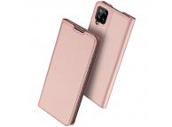 Husa Poliuretan DUX DUCIS Skin Pro pentru Samsung Galaxy A12 A125, Roz Aurie, Blister