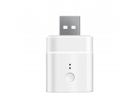 Adaptor USB Wireless Sonoff Smart M0802010006, 5 V / 2.5 A, Compatibil cu Google Home / Alexa, Alb, Blister