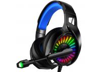 Casti Gaming XO Design GE-03, 3.5 mm, cu microfon, Negre, Blister