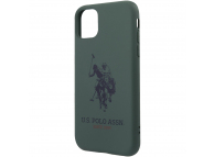 Husa TPU U.S. Polo Big Horse pentru Apple iPhone 11 Pro Max, Verde USHCN65SLHRGN