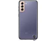 Husa Plastic Samsung Galaxy S21+ 5G, Clear Protective Cover, Neagra EF-GG996CBEGWW