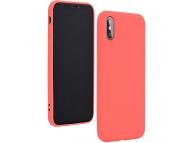 Husa TPU Forcell Silicone LITE pentru Apple iPhone 8, Roz, Bulk