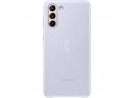 Husa Samsung Galaxy S21+ 5G, Led Cover, Violet EF-KG996CVEGWW
