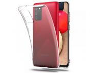 Husa TPU Tech-Protect FLEXAIR CRYSTAL pentru Samsung Galaxy A02s, Transparenta, Blister